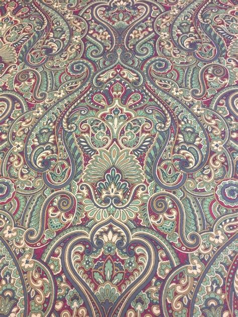 William Morris Upholstery Fabric by Iliv Klee Autumn Velvet William Morris Style Curtain