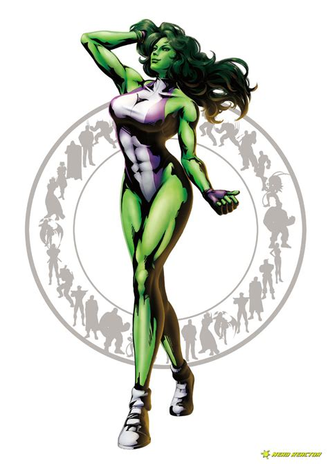 Mvc3 Character Analysis She Hulk I Speak Comics