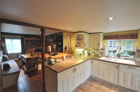 Traditional English Cottage With Timber Beams