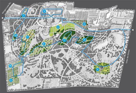 Botanischer Garten München Maps by Sommerpfad Bgbm
