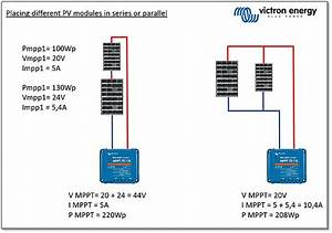 Connecting Different Sized Victron Energy Pv Modules