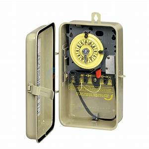 Intermatic Time Switch In Metal Enclosure With Heater