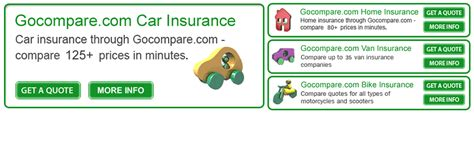 Compare Car Insurance Quotes by Compare And Go Insurance Quotes Powered By Gocompare