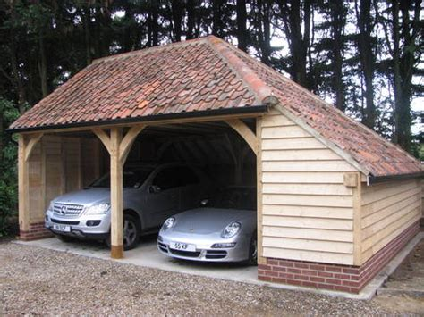 2016 Oak Style Barns / Car Ports For Sale