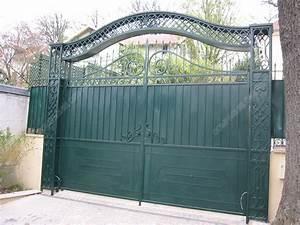 Portail Coulissant Bricoman : modele portail fer forg nw32 jornalagora ~ Dallasstarsshop.com Idées de Décoration