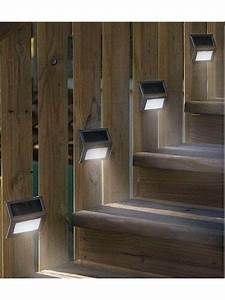 Solar Lights Outdoor 10 Led Solar Step Lights Patio Deck Staircase Outdoor