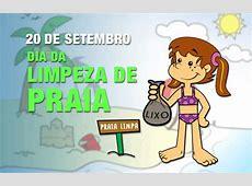Dia da Limpeza de Praia Datas Comemorativas Smartkids