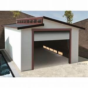 Garage Bois Pas Cher : garage bois porte coulissante torino toit 2 pentes ~ Dailycaller-alerts.com Idées de Décoration