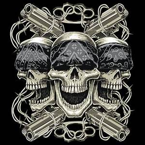 outlaw skulls | Bikers | Pinterest
