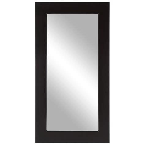 floor mirror brown city furniture meesha dk brown leaning mirror