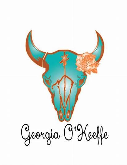 Georgia Pieces Behance Keeffe Okeeffe