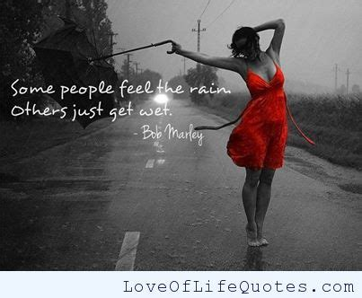 bob marley quotes dancing in the rain