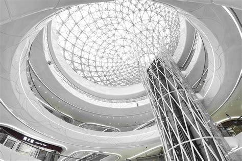 unstudio wraps hanjie wanda square   steel spheres