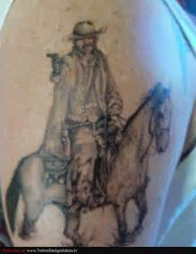 Cowboy Tattoo Designs