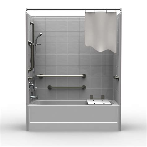 combo shower tub shower tub combo units bathtub walls surrounds