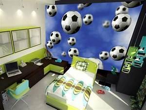 Fussball Kinderzimmer Ideen : 110 kreative ideen fototapete f rs kinderzimmer ~ Markanthonyermac.com Haus und Dekorationen