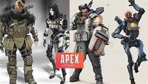 Apex Legends Concepts From Titanfall 2 Art