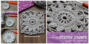 Crochet Granny Square from Frozen Finland [Easy Free