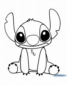 Lilo And Stitch Printable Coloring Pages 2 Disney