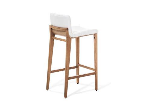 tabourets bar design cuir bois ch 234 ne moritz par 4