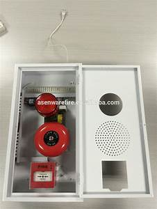 Outdoor Combined Box With Conventional Strobe Light Bell