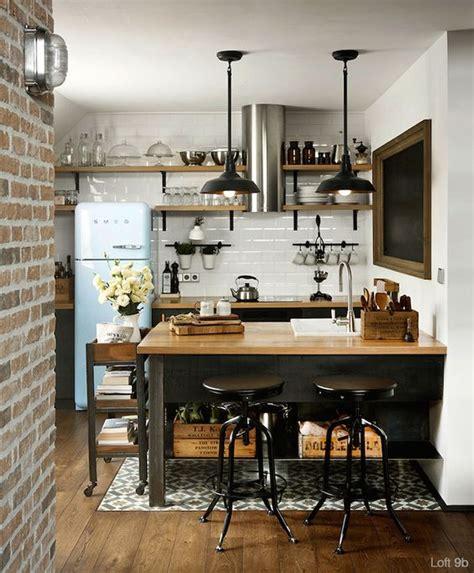 cuisine style industriel loft cuisine industrielle 43 inspirations pour un style