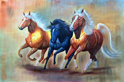 Paint Horse Paintings