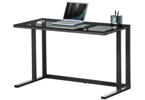 Glass And Metal Computer Desk Black by Alphason Air Desk Computer Workstation Black Metal