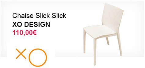 chaises slick slick philippe starck par xo design