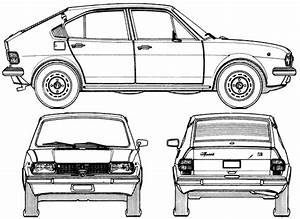 1972 alfa romeo alfasud series 1 hatchback blueprints for Alfa romeo series 1