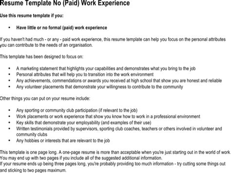 What To Put On A Babysitting Resume by No Experience Resume For Free