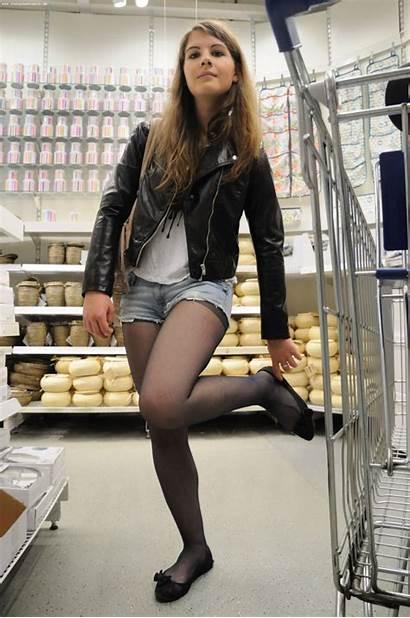 Pantyhose Tights Teen Flats Tumblr Shorts Nylons