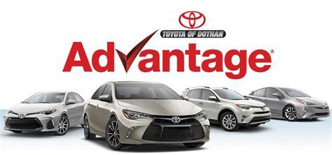 Toyota Dothan Al by Toyota Of Dothan Advantage