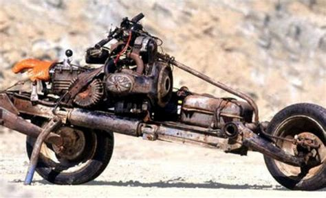 Emile Leray Built A Working Motorbike From A Broken Down