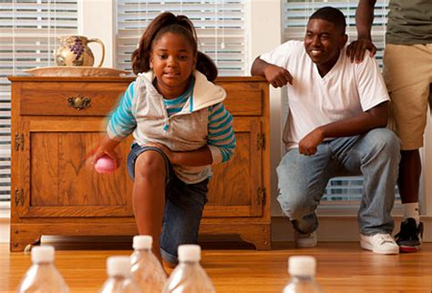 get moving family friendly indoor physical activities 194 | webmd photo of kids bowling indoors