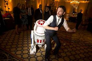 chris hardwick had a star wars droid as his ring bearer at With chris hardwick wedding ring