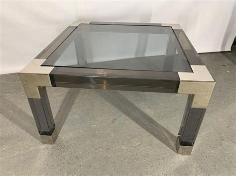Explore cocktail tables and modern coffee tables by jonathan adler. Smoked Lucite and Chrome Coffee Table by Jonathan Adler For Sale at 1stdibs