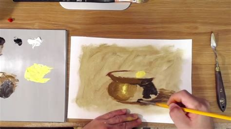 how to paint gold brass youtube