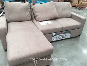 pulaski furniture convertible sofa costco weekender With pulaski sofa bed