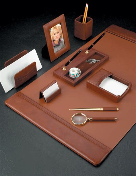 office desk pads leather tan leather conference sets leather conference pad set