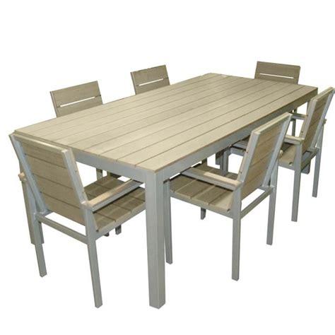 chaise exterieur pas cher meuble de jardin solde salon resine tressee pas cher