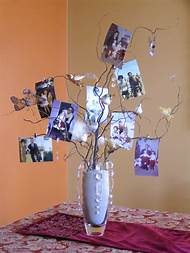 80th Birthday Party Table Centerpieces