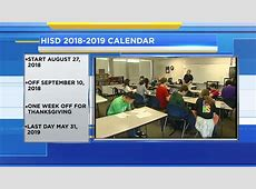 Houston Independent School District approves 2018 school