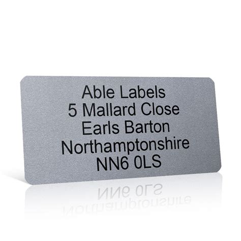 silver address label silver address label on a4 sheets able labels