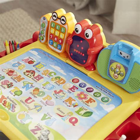 vtech touch and learn activity desk deluxe interactive learning system interactive learning system vtech touch and learn activity
