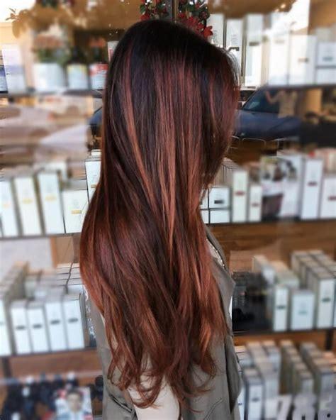 auburn hair color ideas   dark light