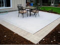 Adding Pavers To Concrete Patio Decorate Great Concrete Patio With Paver Border 1200 X 900 286 KB Jpeg