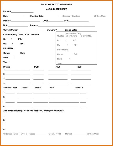 Boat Insurance Quote Sheet by Best Homeowners And Car Insurance Upcomingcarshq