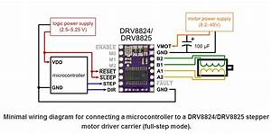 Drv8825 Stepper Motor Driver Carrier  High Current