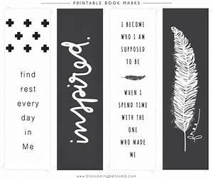 Printable Quiet Time Bookmarks // Simple Nordic Design